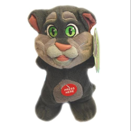 "Cuddle Barn CDB-00543_TM-C Talking Friends Squeezers Talking Tom Cat 9"" Plush"