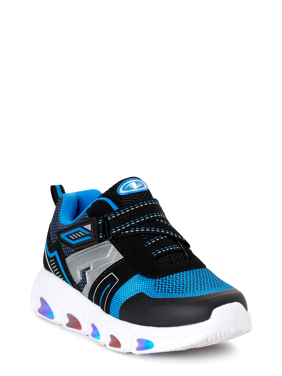 Athletic Works Toddler Boys Lightweight Running Shoe Size 7 Blue
