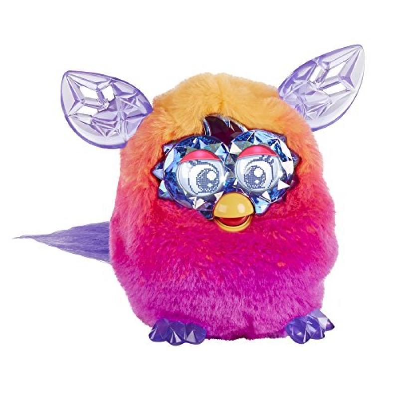Furby Boom Crystal Series Furby (Orange/Pink)