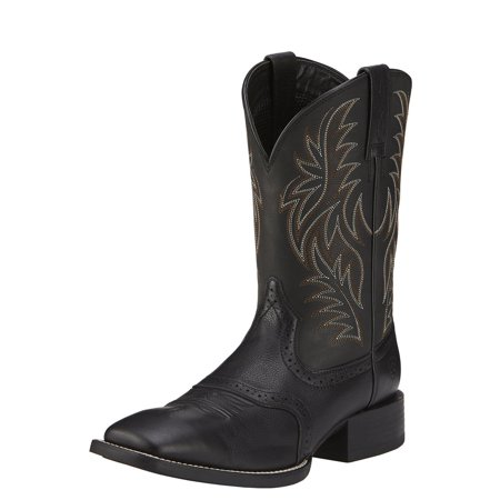 Ariat Men's Sport Western Cowboy Boot Wide Square Toe - 10016292 Ariat English Riding Boots