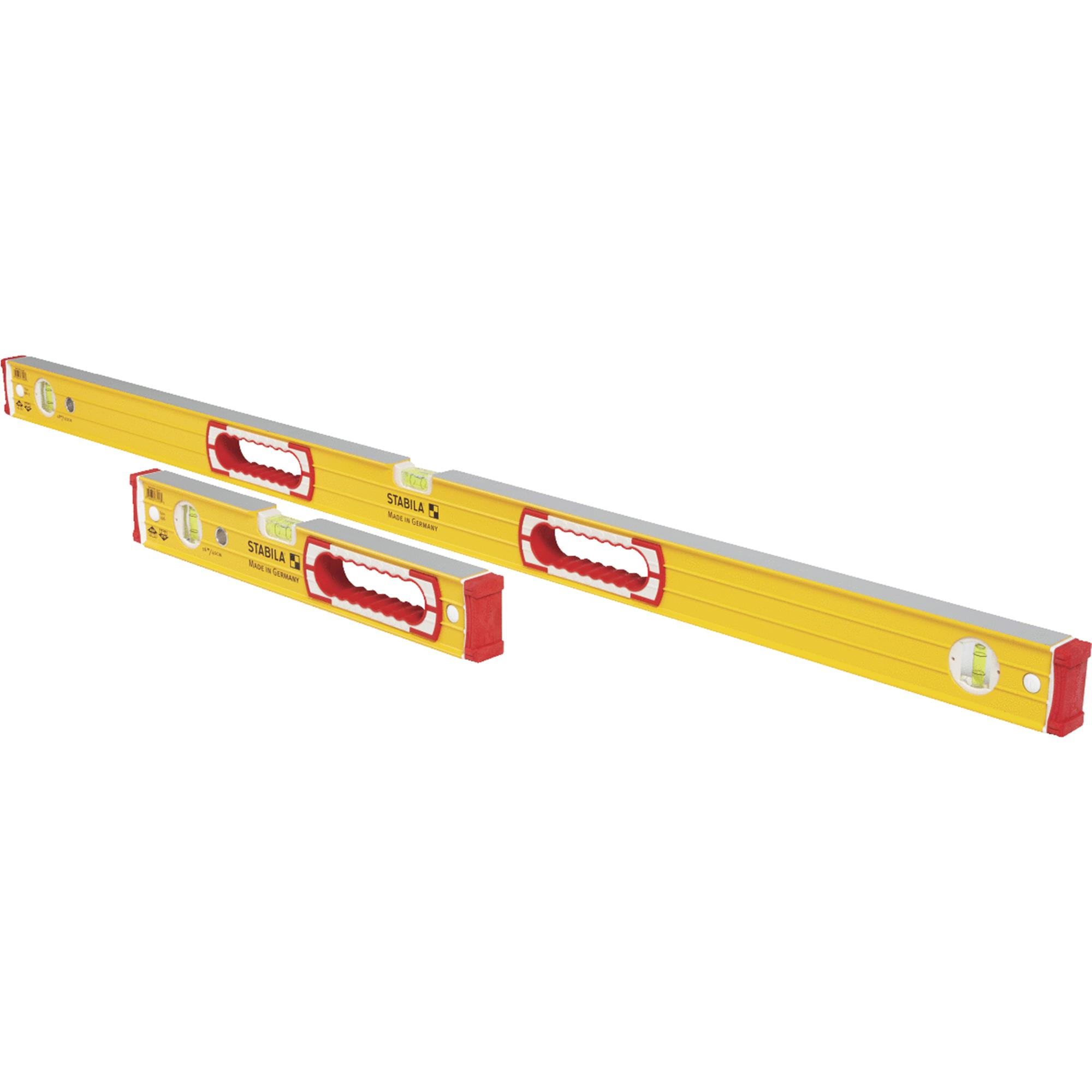 "Stabila 37816 48"" & 16"" Yellow Magnetic Level Set by Stabila"