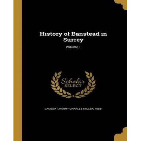 History of Banstead in Surrey; Volume 1 - image 1 de 1