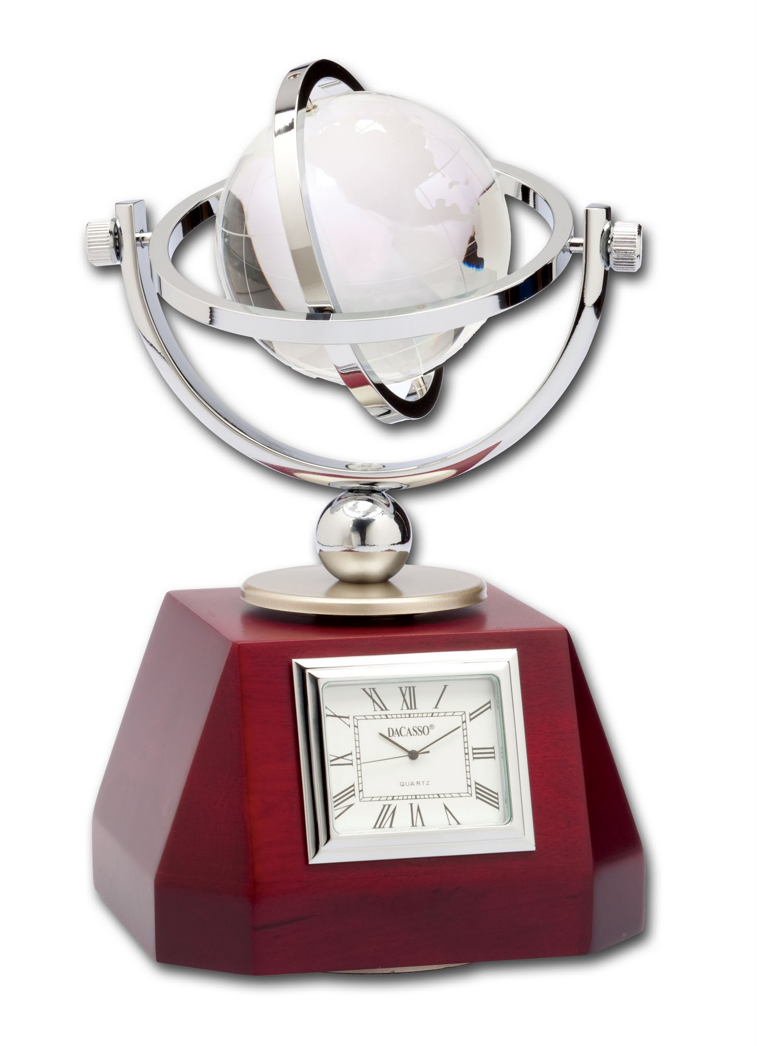 Global Desk Clock by Dacasso