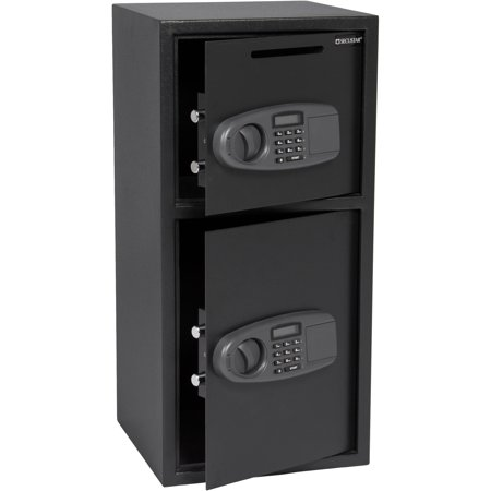 Best Choice Products Large Double Door Digital Cabinet Safe for Cash, Jewelry, (Best Wall Safe For Home)