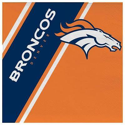 Denver Broncos Disposable Napkins