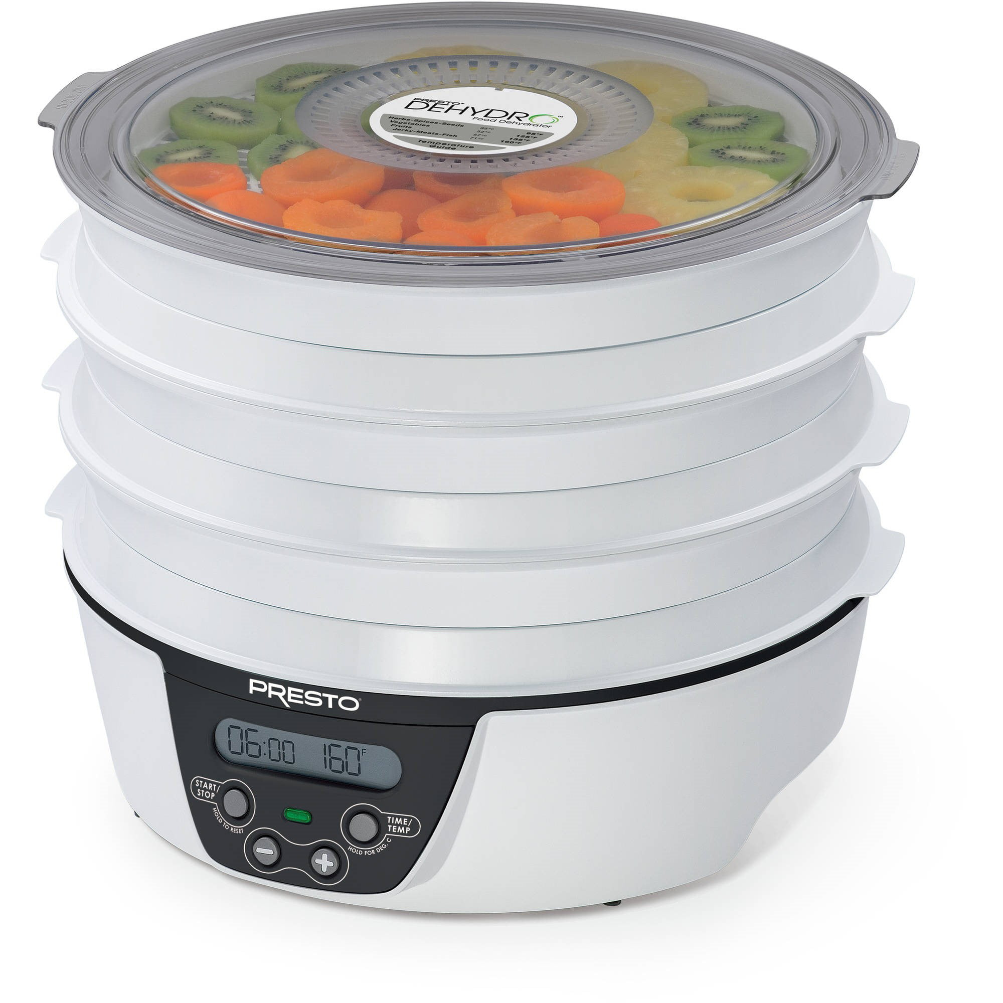 Presto Dehydro??? Digital Electric Food Dehydrator 06303 by National Presto Industries