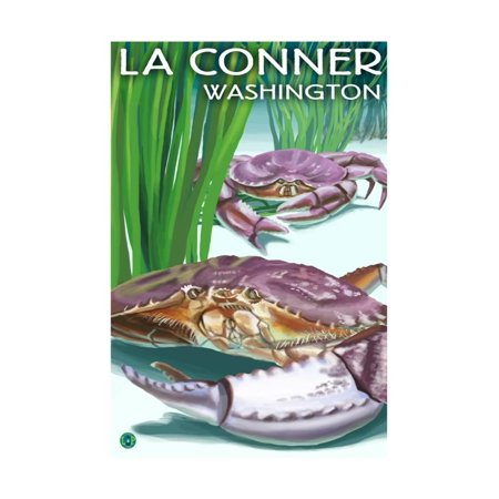 Dungeness Crab Legs - Dungeness Crabs - La Connor, WA Print Wall Art By Lantern Press