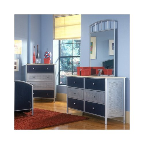 Bundle-68 Hillsdale Universal Youth Dresser (3 Pieces)
