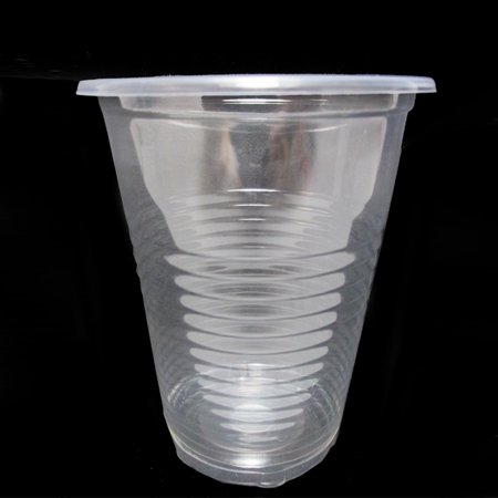 140 x Disposable Clear Plastic Cups 7oz Heavy Duty Drink Party Bar Office Soda for $<!---->