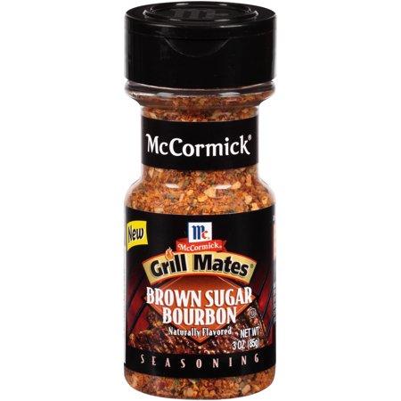 (2 Pack) McCormick Grill Mates Brown Sugar Bourbon Seasoning, 3 oz