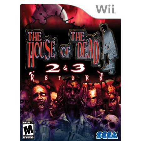 House Of The Dead 2 & 3 Return, SEGA, Nintendo Wii, (Tai Game The House Of The Dead 3)
