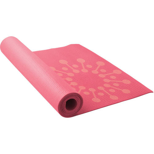 Lotus Printed Yoga Mat, 3mm