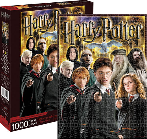 Aquarius Harry Potter Collage 1,000 Piece Jigsaw Puzzle by Aquarius