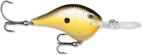 Rapala DT06MULE Dives-To 6 Mule 2 .375oz Multi-Colored by Rapala