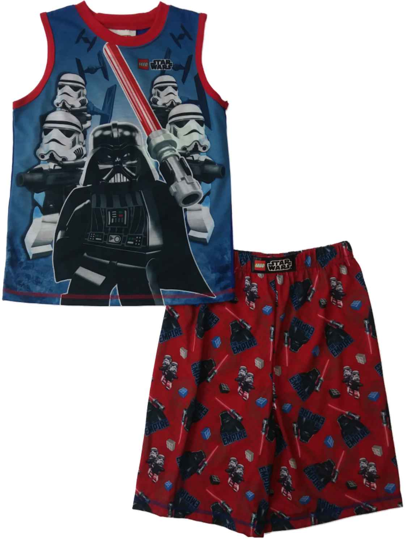 10//12 LEGO Star WarsDarth VaderStormtroopers Flannel TypePajama Set6//7-8