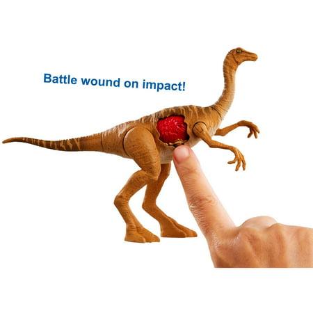 Jurassic World Battle Damage Gallimimus Dinosaur Action Figure