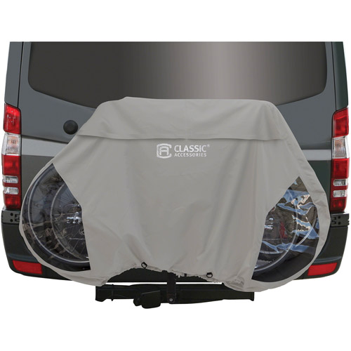 Classic Accessories RV Deluxe Bike Storage Cover, Gray
