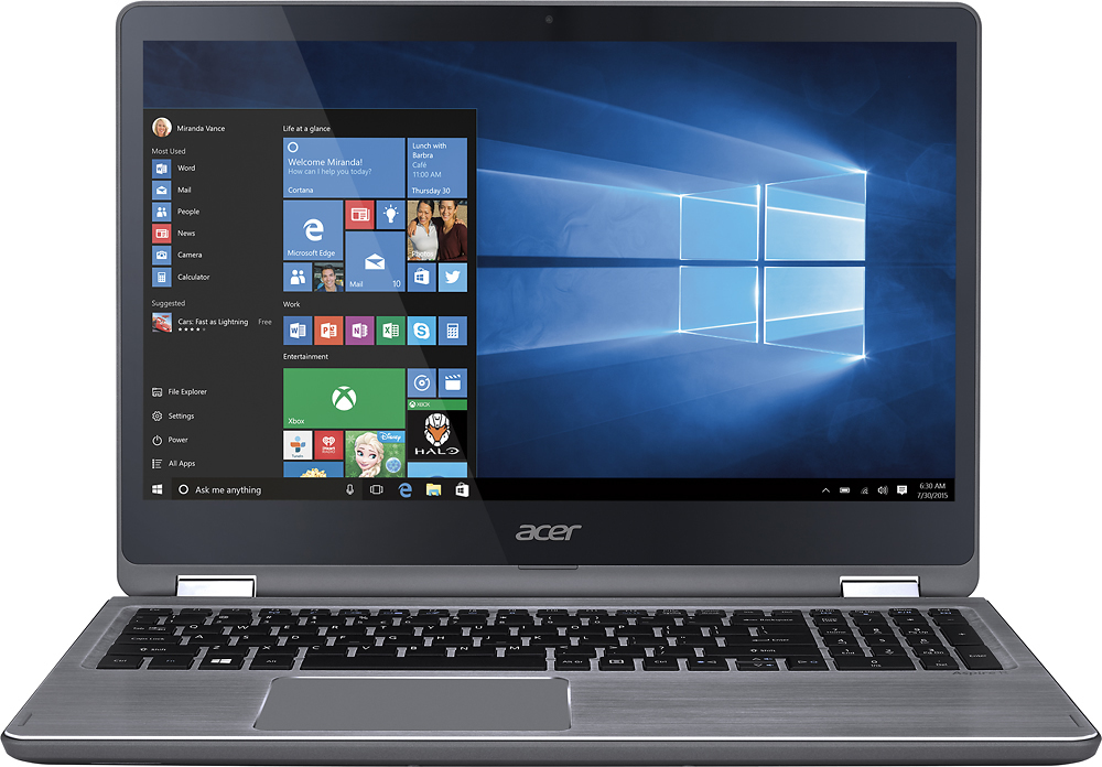 "Refurbished Acer 15.6"" Intel Core i5 2.50 GHz 8 GB Ram 1 TB HDD Windows 10 Home