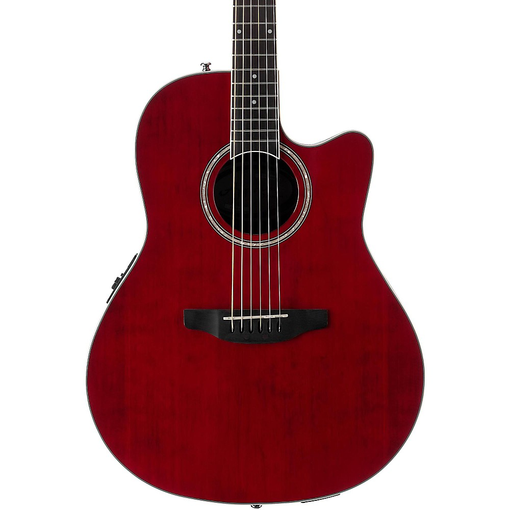 Ovation Applause Balladeer, Ruby Red