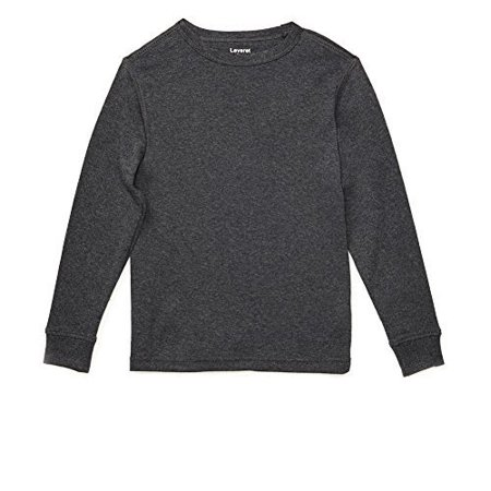 Leveret Long Sleeve Boys Girls Kids & Toddler T-Shirt 100% Cotton (2-14 Years) Variety of Colors for $<!---->