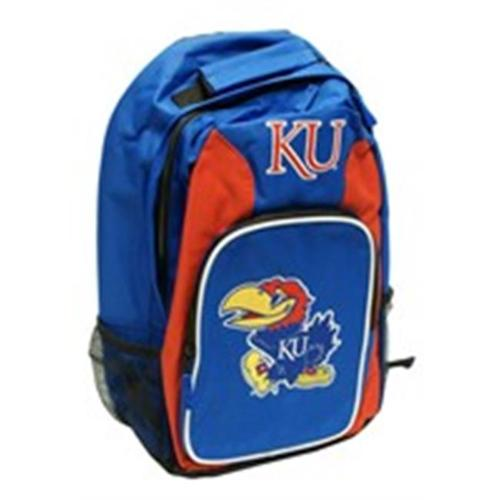 Kansas Jayhawks Back Pack - Royal Blue Southpaw Style