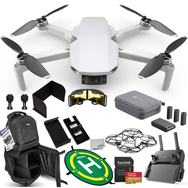 DJI Mavic Mini Portable Drone Quadcopter Fly More Combo ...