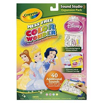 Crayola Color Wonder Sound Studio Disney Princess Refills