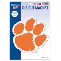 "Clemson Tigers WinCraft 6"" x 9"" Car Magnet - No Size"
