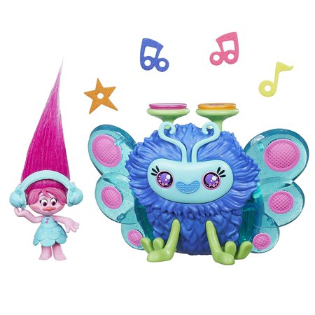 DreamWorks Poppy's Wooferbug Beats, Wooferbug critter plays song from the DreamWorks Trolls movie By