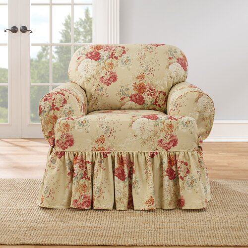 Sure Fit Ballad T-Cushion Armchair Slipcover