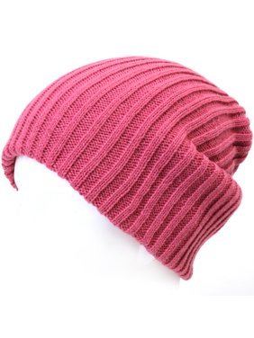 2db8827a463 Product Image ililily Stretch-fit Ribbed Knit Beanie Skull Winter Hat  Sports Running Beanies