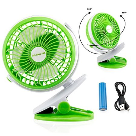 oct17 portIle stroller tIle fan rechargeIle battery usb mini battery operated clip on mini desk fan for home office bIy stroller car laptop study gym camping tent - - Battery Operated Fan And Light