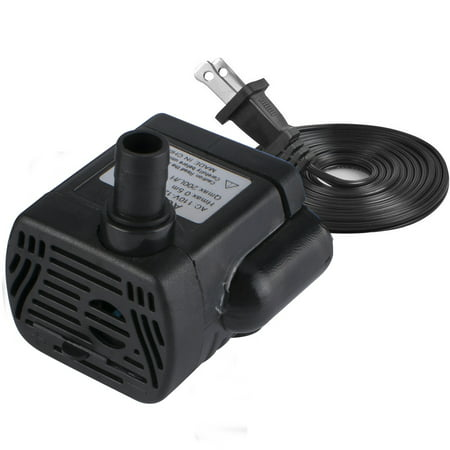 High Volume Water Pump - 200L/H 4W Submersible Water Pump, Ultra Quiet For Pond, 1.6ft High Lift, Aquarium, Fish Tank Fountain, Powerful Water Pump with 4.9ft (1.5m) Power Cord
