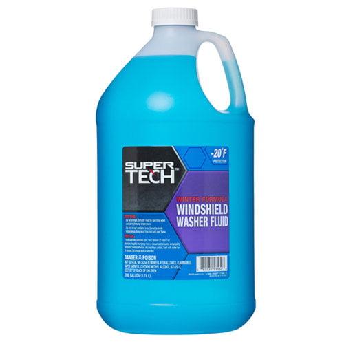 Super Tech Winter Formula Windshield Washer Fluid