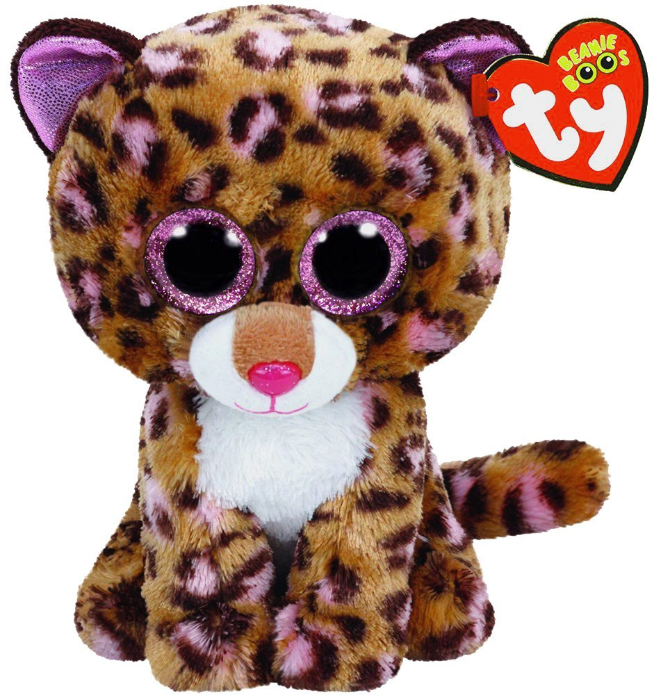 New Cute Patches The Leopard Plush Toys 6 15cm Ty Plush Animals