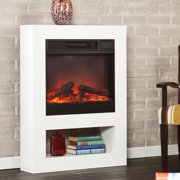 Southern Enterprises Holly and Martin Mofta Electric Fireplace, White