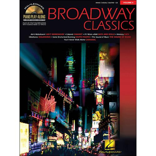Hal Leonard Piano Play-Along Volume #4-Broadway Classics (Book and CD)