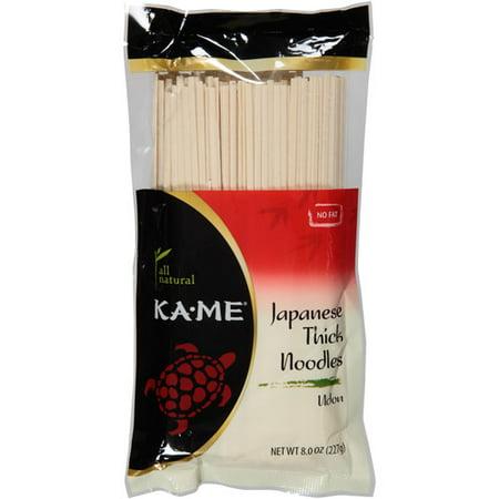 Kame Udon Noodles, 8 Oz, (pack Of 12)