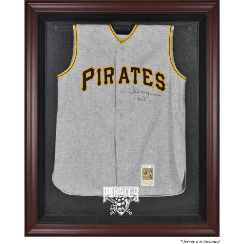 Pittsburgh Pirates Fanatics Authentic Mahogany Framed Logo Jersey Display Case - No Size