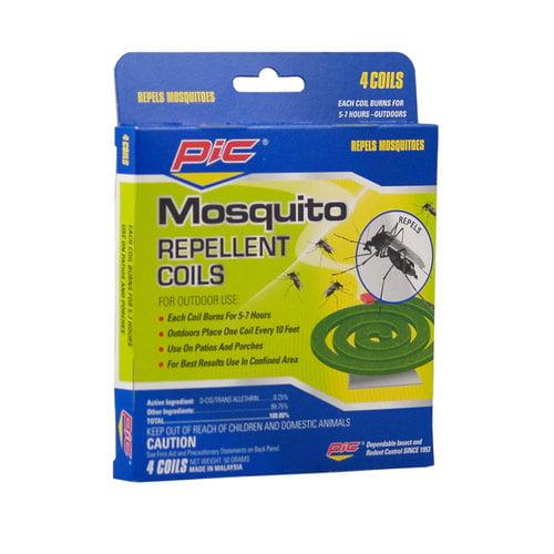 PIC Mosquito Repellent Coils, 4pk