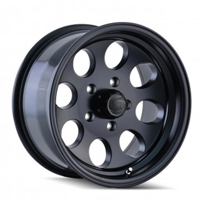 """16X8/"""" ION POLISHED 8 LUG BAJA STYLE FORD ONLY F250 F350 8 ON 170 BP 99 UP TO 04"""