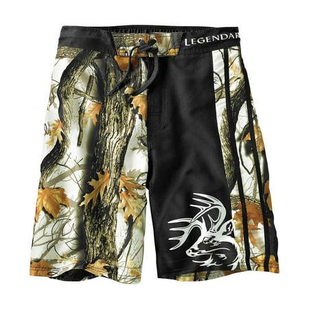 Legendary Whitetails Mens Lakeside Swim Shorts