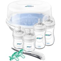 Philips Avent Natural Baby Bottle Essentials Baby Gift Set, SCD208/01
