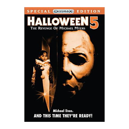 Halloween 5: The Revenge Of Michael Myers (DVD) (Halloween Town Movie Trailer)