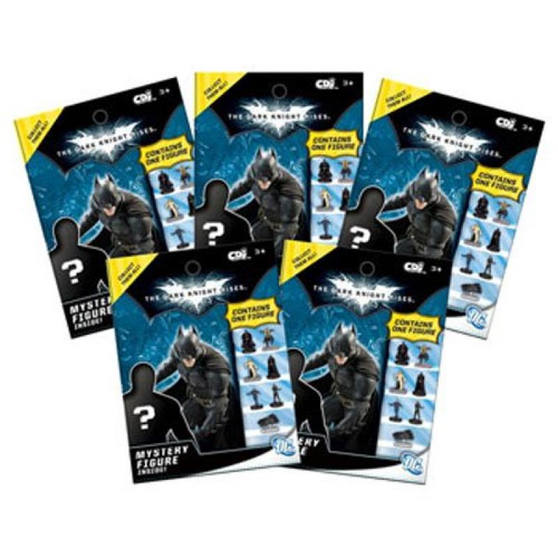 Batman The Dark Knight Rises - Mystery Figure - 5 Pack lot of FOIL BAGS