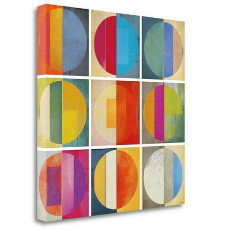 Tangletown Fine Art 'Pattern Tiles I' by Noah Graphic Art on Wrapped - Noahs Ark Tile