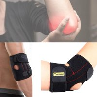 Elbow Wrap,Zerone Adjustable Neoprene Tennis Golfers Elbow Brace Wrap Arm Support Strap Band