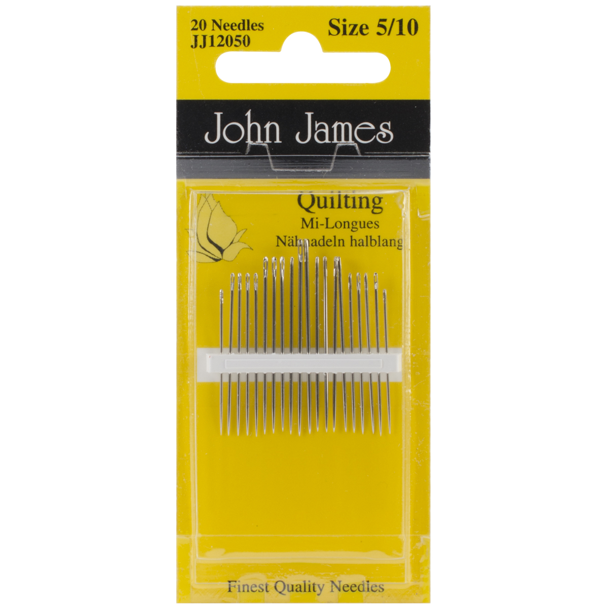 Quilting/Betweens Hand Needles-Size 5/10 20/Pkg