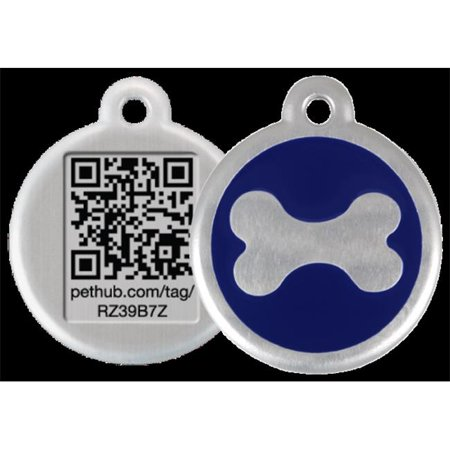 Walmart Call In Number >> Pethub Rdtbnl Reddingo Bone Blue Tag With Call Center Number Large