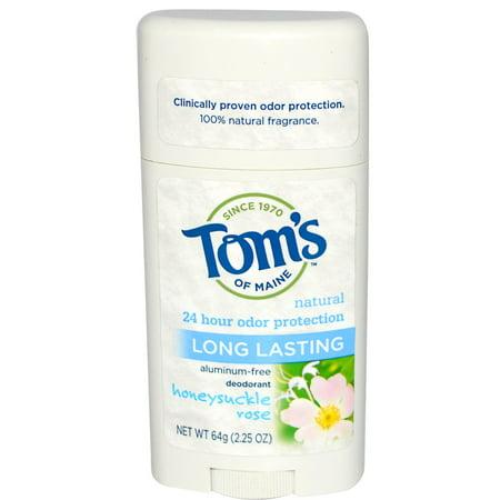 Toms of Maine Natural Deodorant Aluminum Free Honeysuckle Rose -- 2.25 oz